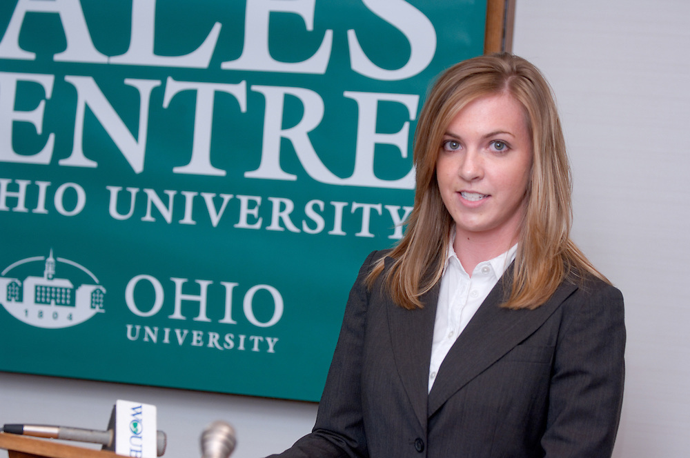 """Erin Cochran..11/1/2006..Ralph and Luci Schey Sales Centre named at Ohio University.Center named for prominent Cleveland-area residents..ATHENS, Ohio (Nov. 1, 2006) -- Ohio University celebrated today the naming of the Ralph and Luci Schey Sales Centre in the College of Business. The Ohio University Board of Trustees passed a resolution that approved the official naming of the center during its recent meeting. Ralph and Luci Schey are residents of Gates Mills, Ohio...""""The Ralph and Luci Schey Sales Centre is truly a unique program that continues to meet the needs of current and future Ohio University students,"""" Ohio University President Roderick J. McDavis said. """"The skills that students develop at the center are useful in a variety of academic pursuits and careers. Statistics show that up to 65 percent of college graduates' first professional jobs are in sales-related roles.""""..Ralph Schey was a guiding force behind the creation of the center in 1997. He challenged the university to get involved in sales education. """"It is particularly fitting that the center has now been named for those who first inspired us,"""" said College of Business Associate Dean Dawn Deeter-Schmelz...Ralph and Luci Schey have supported their vision with a $2.2 million commitment to support the sales center. The endowment they have funded supports scholarships, operating expenses, nationally known speakers, professional trainers, workshops and sales symposia that allow current students to interact with professionals in the field...Ralph Schey, now retired, was for two decades president and CEO of the $1 billion conglomerate Scott Fetzer Company, a Berkshire Hathaway holding. His wife, Luci Schey, has been a trustee for the Cleveland Orchestra, among other civic groups. The Scheys are emeriti trustees of The Ohio University Foundation Board. Ralph Schey earned his bachelor's of science in commerce from Ohio University in 1948 and received an honorary doctorate from the university in 1987...Larry S"""