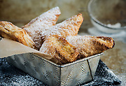 Food Photography of Apple Turnovers for the Little House Cookbook.