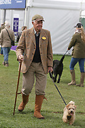 Spectator enjoying during the International Horse Trials at Chatsworth, Bakewell, United Kingdom on 11 May 2018. Picture by George Franks.