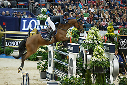 Staut Kevin, (FRA), For Joy van't Zorgvliet Hdc<br /> Longines FEI World Cup Final 1 - Goteborg 2016<br /> © Hippo Foto - Dirk Caremans<br /> 25/03/16