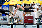 Belo Horizonte_MG, Brasil...Copa do Mundo de Natacao 2007. Na foto a prova 100m Livres...Swimming World Cup 2007. In this photo 100m freestyle...Foto: LEO DRUMOND /  NITRO