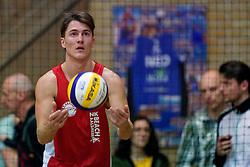 04-01-2020 NED: NK Beach volleyball Indoor, Aalsmeer<br /> Tom Feldkamp