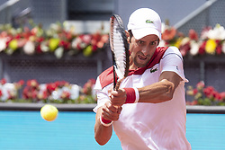 May 9, 2018 - Madrid, Spain - Serbian Novak Djokovic during Mutua Madrid Open 2018 at Caja Magica in Madrid, Spain. May 09, 2018. (ALTERPHOTOS/Borja B.Hojas) (Credit Image: © Coolmedia/NurPhoto via ZUMA Press)
