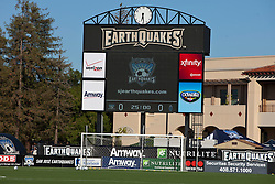 July 20, 2011; Santa Clara, CA, USA;  General view of Buck Shaw Stadium before the game between the San Jose Earthquakes and the Vancouver Whitecaps.