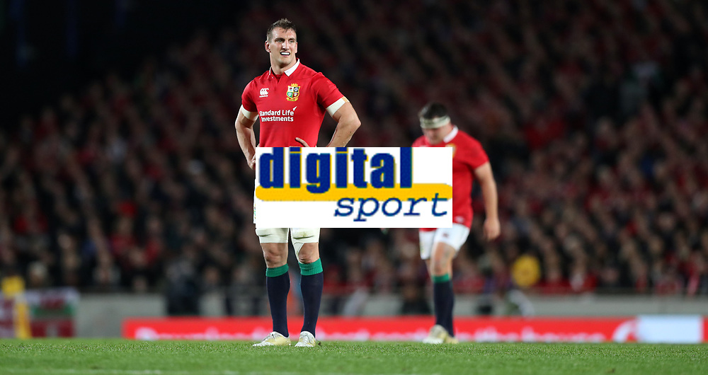 Rugby Union - 2017 British &amp; Irish Lions Tour of New Zealand - Third Test: New Zealand vs. British &amp; Irish Lions<br /> <br /> Sam Warburton of The British and Irish Lions at Eden Park.<br /> <br /> COLORSPORT/LYNNE CAMERON
