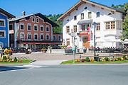 Austria, Tyrol, Mittersill town centre