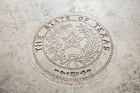 Seal Of Texas in Fort Bonifacio; Manila; Philippines