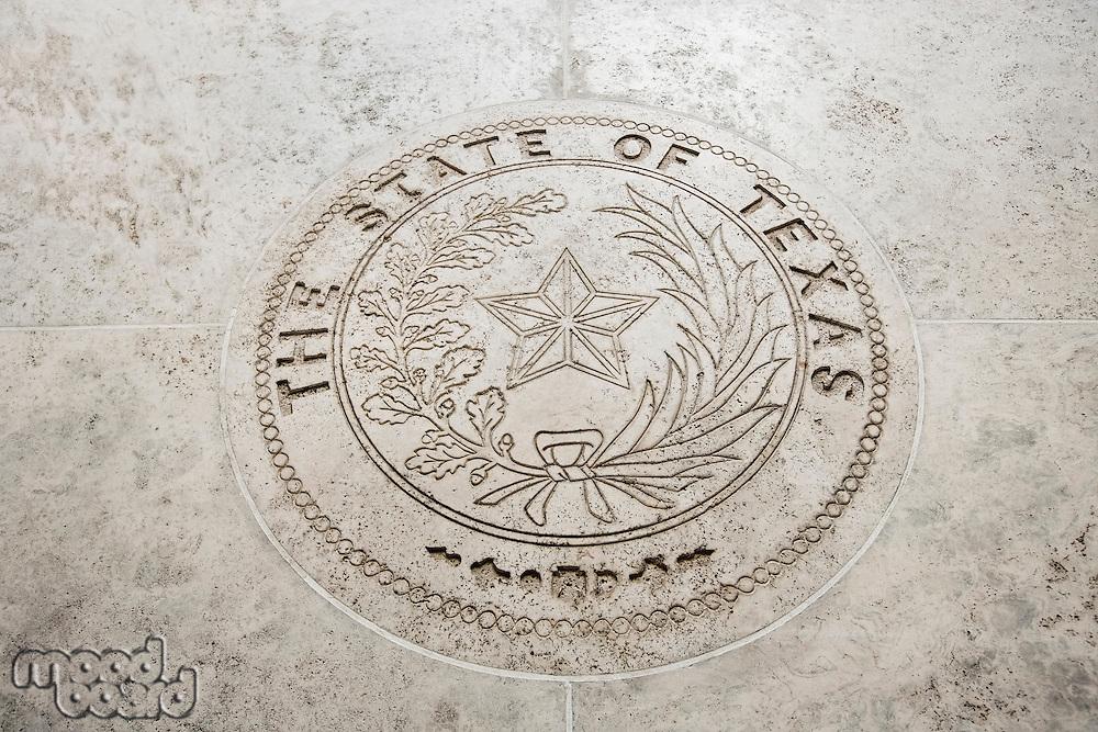 Seal Of Texas in Fort Bonifacio; Manila; Philippines