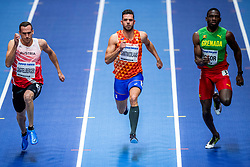 02-03-2018 GBR: World Indoor Championships Athletics day 2, Birmingham<br /> Eelco Sintnicolaas NED, Heptathlon, Dominik Distelberger AUT, Victor Lindon GRN