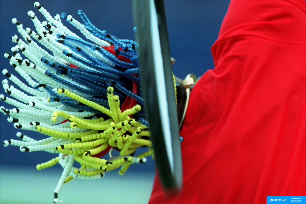Venus Williams, USA, training at White City, Sydney, Australia before the Sydney International Tennis Tournament.