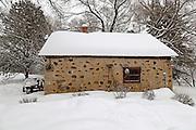 Summer kitchen, circa 1846 in Saukville, Wis. Jeffrey Phelps photo