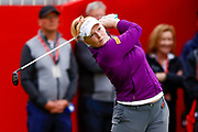 Kylie Henry during the Ricoh Women's British Open at Royal Lytham and St Annes Golf Club, Lytham Saint Annes, United Kingdom on 2 August 2018. Picture by Simon Davies.