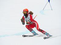 Francis Piche Invitational giant slalom on Cannonball Saturday, March 14, 2015.  Karen Bobotas Photographer