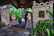 Exterior entrance of Tugu Hotel Bali.
