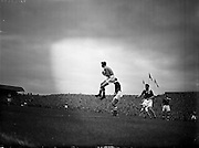18/09/1957<br /> 09/18/1957<br /> 18 September 1957<br /> Soccer: League of Ireland v Scottish League at Dalymount Park, Dublin.