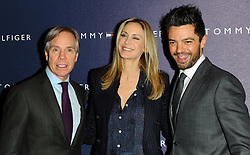 Tommy Hilfiger, Dee Ocleppo & Dominic Cooper at the opening of the new Tommy Hilfiger store on in London on Thursday 1st December 2011. Photo by: i-Images