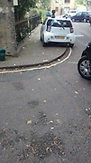 """These pictures will cause many road users to have reason feel aggrieved, the pictures taken by Martin Ovington in slough <br /> Martian said """"How ironic that the driver of the CCTV car was getting annoyed with me taking pictures of his parking!""""<br /> ©Martin Ovington/Exclusivepix"""