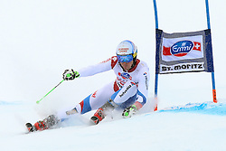 02.02.2014, Corviglia, St. Moritz, SUI, FIS Weltcup Ski Alpin, Riesenslalom, Herren, im Bild Carlo Janka (SUI) // during the Mens Giant Slalom of the St. Moritz FIS Ski Alpine World Cup at the Corviglia course in St. Moritz, Switzerland on 2014/02/02. EXPA Pictures © 2014, PhotoCredit: EXPA/ Freshfocus/ Claude Diderich<br /> <br /> *****ATTENTION - for AUT, SLO, CRO, SRB, BIH, MAZ only*****