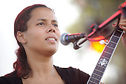 Carolina Chocolate Drops performing at LouFest in St. Louis on August 29, 2010.