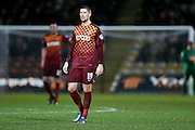 Bradford City forward, on loan from Fleetwood Town, Jamie Proctor  during the Sky Bet League 1 match between Bradford City and Barnsley at the Coral Windows Stadium, Bradford, England on 26 January 2016. Photo by Simon Davies.