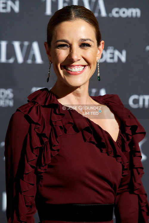 Raquel Sanchez Silva attends Telva Awards 2012 at Hotel Palace on November 6, 2012 in Madrid, Spain