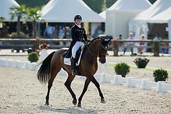 Bosman Kara (BEL) - Solitaire<br /> Belgisch Kampioenschap dressuur <br /> Hulsterlo - Meerdonk  2014<br /> © Dirk Caremans