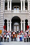 Aloha Week, Royal Court, <br /> Iolani Palace, Honolulu, Hawaii