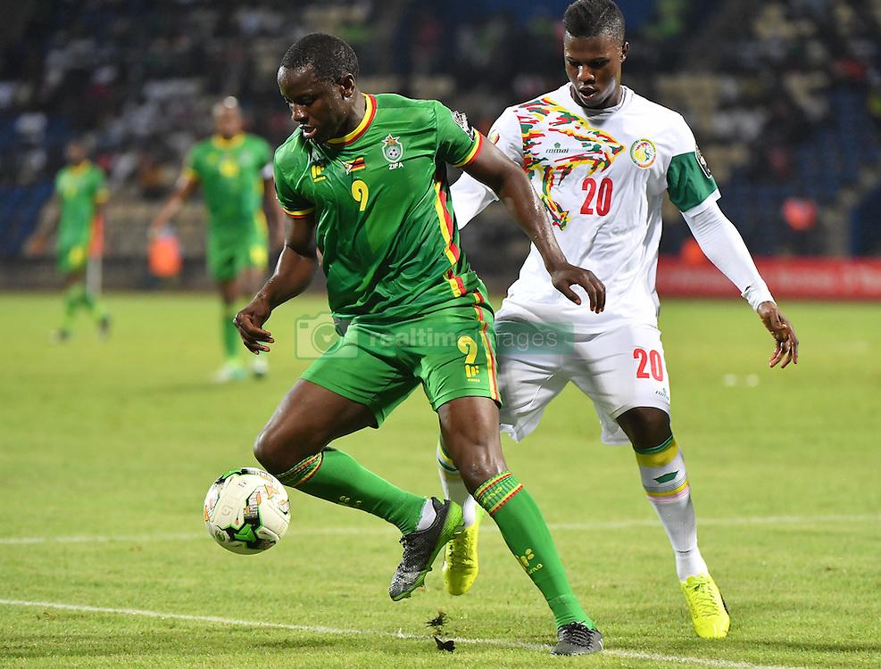 January 19, 2017 - GABON - K. Balde Diao - Senegal vs N. Mushekwi - Zimbawe (Credit Image: © Panoramic via ZUMA Press)