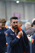 21 Mehumt Tekdemir for İstanbul Başakşehir F.K. during the Europa League third qualifying round leg 2 of 2 match between Burnley and Istanbul basaksehir at Turf Moor, Burnley, England on 16 August 2018.