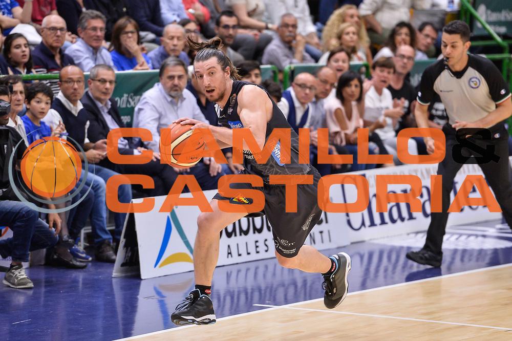 Toto Forray<br /> Banco di Sardegna Dinamo Sassari - Dolomiti Energia Aquila Basket Trento<br /> Legabasket Serie A LBA Poste Mobile 2016/2017<br /> Playoff Quarti Gara3<br /> Sassari 16/05/2017<br /> Foto Ciamillo-Castoria