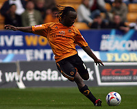 Photo: Rich Eaton.<br /> <br /> Wolverhampton Wanderers v Luton Town. Coca Cola Championship. 26/08/2006. Jemal Johnson of Wolves, scorer of their winning goal