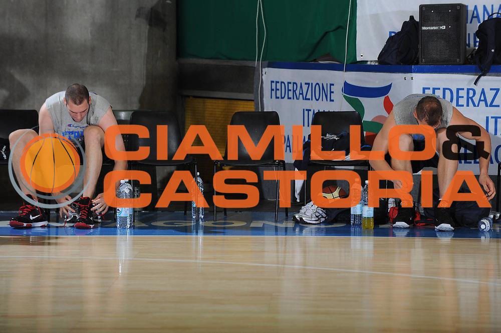 DESCRIZIONE : Bormio Raduno Collegiale Nazionale Italiana Maschile Allenamento<br /> GIOCATORE : Andrea Crosariol Luca Lechthaler<br /> SQUADRA : Nazionale Italia Uomini <br /> EVENTO : Raduno Collegiale Nazionale Italiana Maschile <br /> GARA : <br /> DATA : 01/07/2010 <br /> CATEGORIA : Allenamento Ritratto<br /> SPORT : Pallacanestro <br /> AUTORE : Agenzia Ciamillo-Castoria/GiulioCiamillo<br /> Galleria : Fip Nazionali 2010 <br /> Fotonotizia : Bormio Raduno Collegiale Nazionale Italiana Maschile Allenamento<br /> Predefinita :