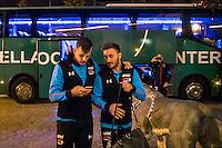 BENAHAVIS - 02-01-2017, Trainingskamp, AZ, AZ speler Mats Seuntjens, AZ speler Muamer Tankovic