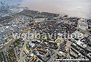 aerial photograph of Kingston upon Hull  © Jonathan Webb - www.webbaviation.de  2013