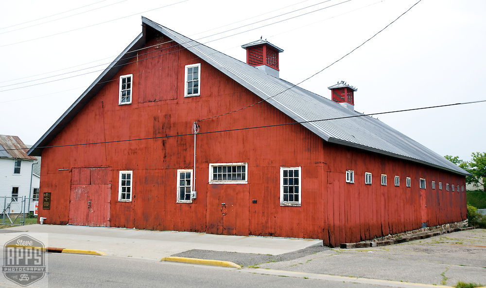 A collection of Barns that still can be seen while traveling the countryside in  the beautiful State of Wisconsin.<br /> Sauk County-Horse Barn at Circus World Museum in Baraboo. Barns from around the State of Wisconsin.