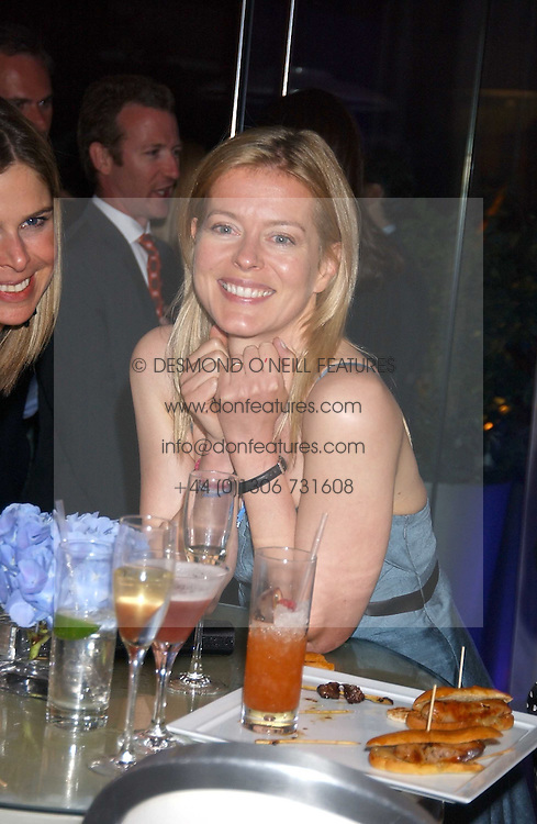 LADY HELEN TAYLOR at party in aid of cancer charity Clic Sargent held at the Sanderson Hotel, Berners Street, London on 4th July 2005.<br /><br />NON EXCLUSIVE - WORLD RIGHTS