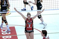05-03-2006 VOLLEYBAL: FINAL 4 DAMES:  HCC MARTINUS - PLANTINA LONGA: ROTTERDAM<br /> In een mooie finale was Martinus in 4 sets te sterk voor Longa / Anja Krause <br /> Copyrights2006-WWW.FOTOHOOGENDOORN.NL
