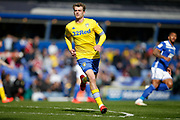 Leeds United forward Patrick Bamford (9)  during the EFL Sky Bet Championship match between Birmingham City and Leeds United at St Andrews, Birmingham, England on 6 April 2019.