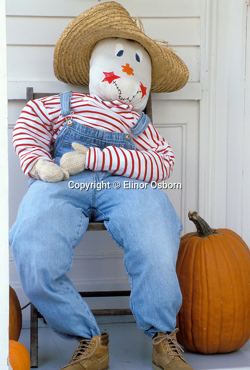 Straw man for Halloween
