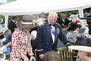 Buz Aldrin, Royal Ascot Race Meeting. Wednesday 21 June 2006. ONE TIME USE ONLY - DO NOT ARCHIVE  © Copyright Photograph by Dafydd Jones 66 Stockwell Park Rd. London SW9 0DA Tel 020 7733 0108 www.dafjones.com