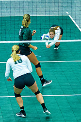 BLOOMINGTON, IL - August 24:  during  the IWU Titans Women<br />