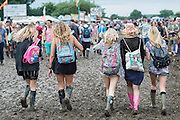The 2016 Glastonbury Festival, Worthy Farm, Glastonbury.