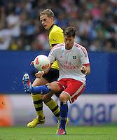 FUSSBALL   1. BUNDESLIGA   SAISON 2012/2013   LIGA TOTAL CUP  Hamburger SV - Borussia Dortmund        04.08.2012 Sven Bender (li, Dortmund) gegen Jaocopo Sala (re, Hamburg)