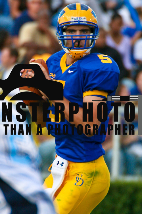 9/15/07 NEWARK, DE -- Senior QB (#5) Joe Flacco threw for 337 yards and tossed all three of his touchdowns in a 14-minute span to lead the No. 10 ranked University of Delaware football team to a 38-9 Colonial Athletic Association victory over Rhode Island.