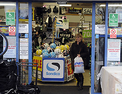 © Licensed to London News Pictures. 14/12/2012. Sports Direct has said Great Britain's success at the Olympics and Paralympics helped drive up its first-half profit. Pre-tax profit at Britain's largest sporting goods retailer was up 24.8% to £125.2m in the six months to October 28..Photo credit : Grant Falvey/LNP