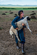 Central Mongolia, nomadic way of life