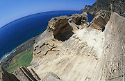 Cliff top view of sea, Panoramic, 2000's