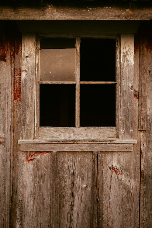 Shed window.<br />