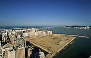 Nam Van lake -  project on new reclaimed land will change the face of Macau  ///  nouveau Projet immobilier ;  - Nam van lakeî qui va fermer la baie de Macao /// R00228/10    L3106  /  R00228  /  P0006550