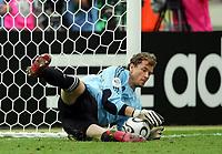 Torwart Jens Lehmann Deutschland haelt Elfmeter von Roberto Ayala im Elfmeterschiessen<br /> Fussball WM 2006 Viertelfinale Deutschland - Argentinien<br /> Tyskland - Argentina<br /> Norway only